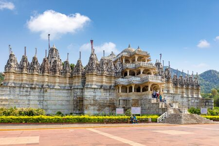 Ranakpur Jain temple in Rajasthan, India Stock fotó