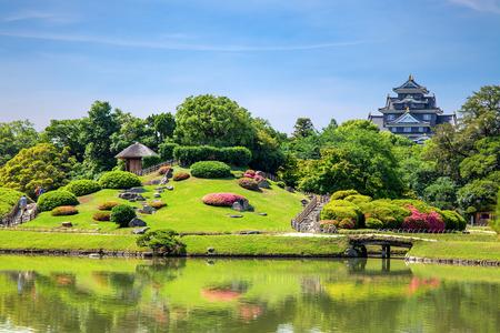 Korakuen Park, Okayama, Japan. Editorial