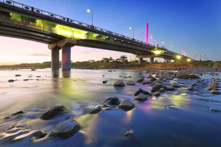 Jiushe bridge in Hsinchu, Taiwan