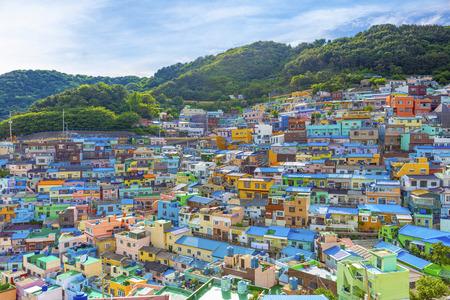 Gamcheon Culture Village,Busan, South Korea Redakční