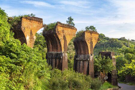Ruins of Long-teng Bridge, Miaoli County, Taiwan