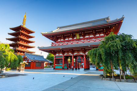 Sensouji temple, Tokyo Japan