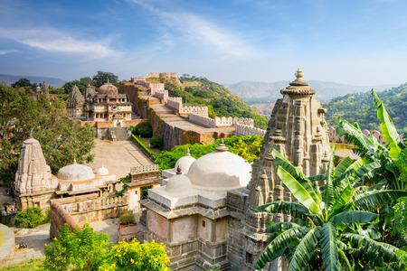 Kumbhalgarh fort in rajasthan, india Editorial