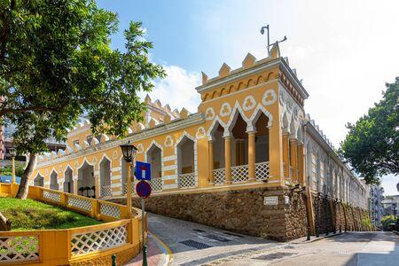 Moorish Barracks is a historical barracks in Calcada Da Barra , Macau, China. Its the popular historic buildings and structure in Macau.