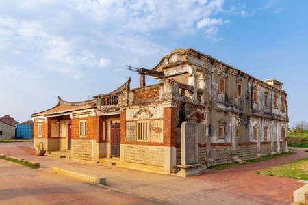 Beishan Old Western-style house in kinmen, Taiwan Editorial