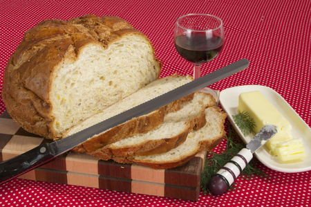 Sliced Bread and Wine photo