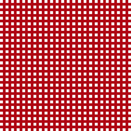 checkered background: A red checkered background on white. Stock Photo