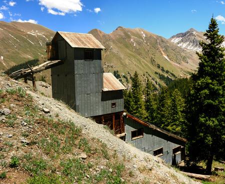 shaft: Old Mining Shaft Stock Photo