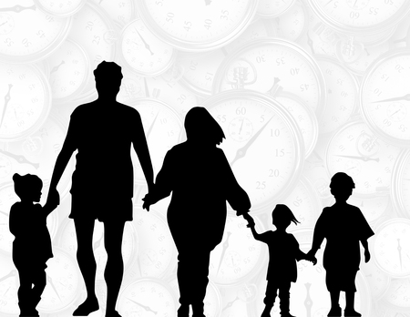 A poster concept of Family Togetherness Time.