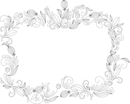 Vintage frames and design elements - with place for your text Stock Vector - 16788429