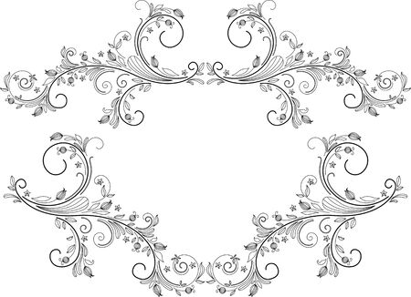 Vintage frames and design elements - with place for your text Stock Vector - 16788430