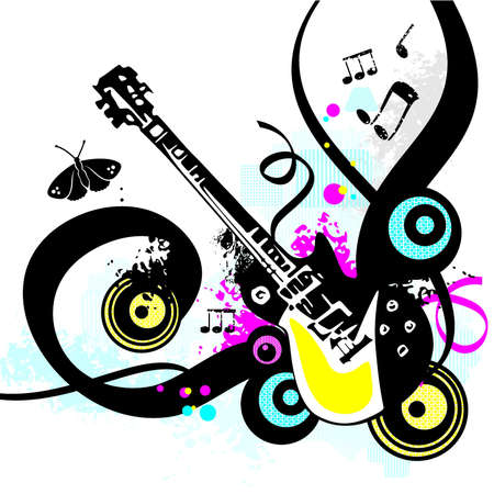 Artistic Music Vector