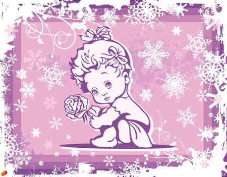Baby Clipart Illustration