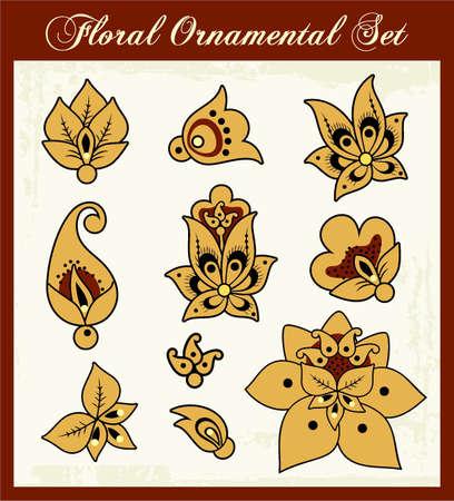 Russian Ornament Stock Vector - 19142818