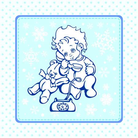 Baby Clipart Illustration