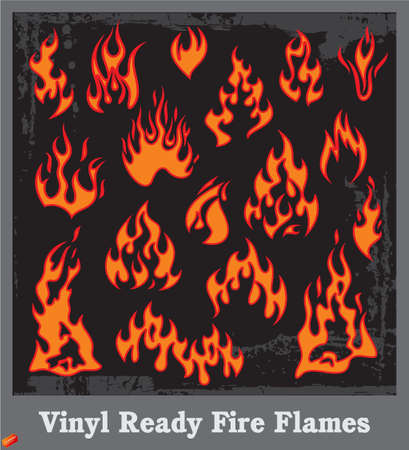 Flames Stock Vector - 19178108
