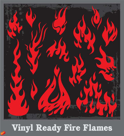 Flames Stock Vector - 19178105