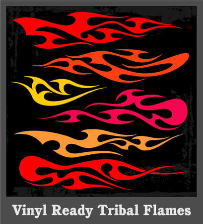 Flames Stock Vector - 19178138