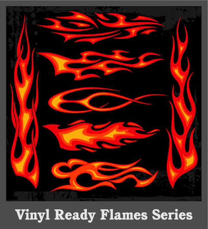 Flames Stock Vector - 19178129