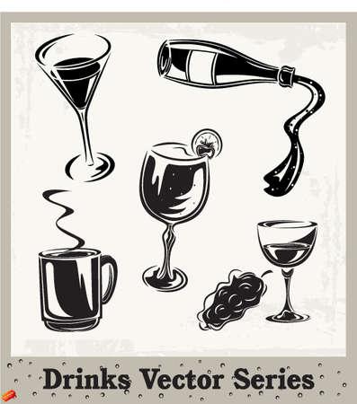 ice tea: Drinks Illustration