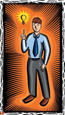 Business Man Stock Vector - 19178134
