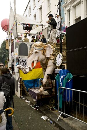 notting: The Reform Club sound system at Notting Hill carnival
