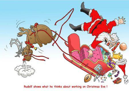 rudolf: Rudolf s revenge Illustration