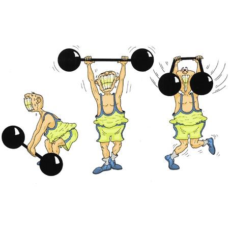 lifter: Weight lifter Illustration