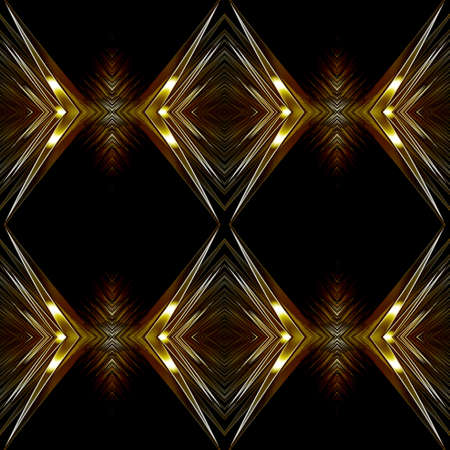 either: A seamless tessellating metallic background. This background will repeat either vertically or horizontally  Stock Photo