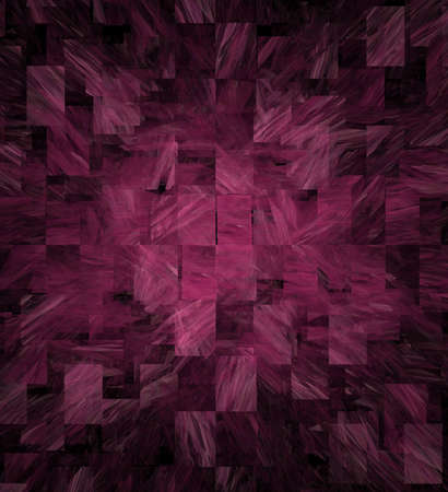 Marble effect fractal rectangles make a super background  Stock Photo