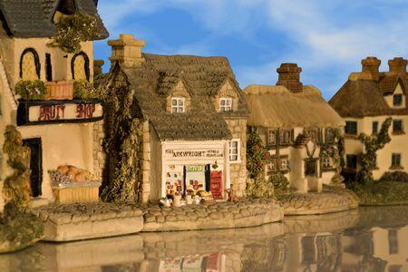 An old village street Stock Photo