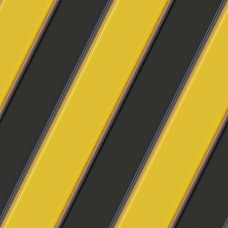 tessellate: A pattern made from Hazard warning stripes  Stock Photo