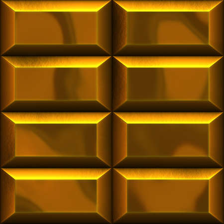 goldbars: An illustration of golden bars in two rows