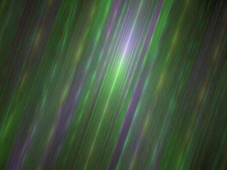 Abstract Design, Digital Illustration - Rays of Light, Parallel Lines with Alternating Colors, Minimal Background Graphic Resource, Green Bands of Color, Soft Gradients, Beams of colored light. Banco de Imagens