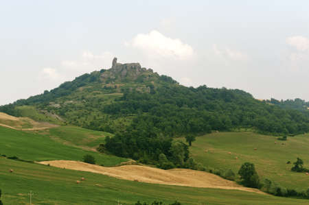 urbino: Montefeltro (Marches, Italy), landscape near Urbino at summer Stock Photo