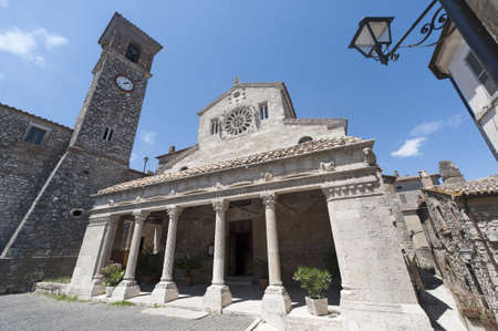 terni: Lugnano in Teverina (Terni, Umbria, Italy) - Santa Maria Assunta, old church