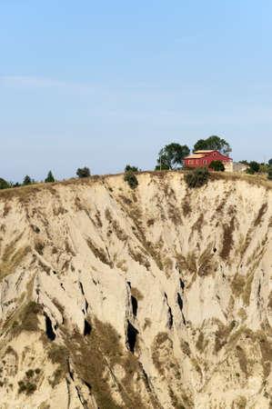 Atri Natural Park (Teramo, Abruzzi, Italy), landscape at summer photo
