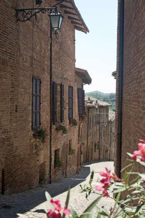 Sarnano (Macerata, Marches, Italy) - Old street photo