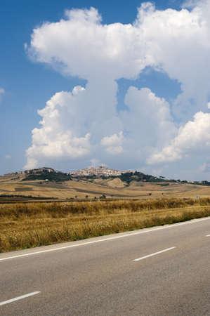 foggia: Landscape in Puglia(Italy) near Candela (Foggia)