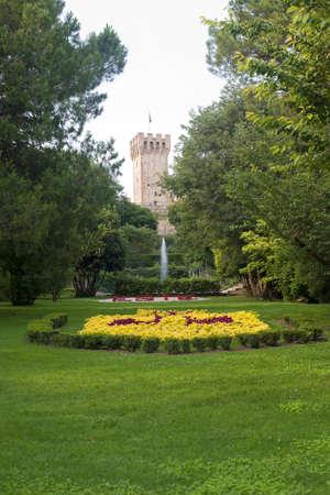 veneto: Este (Padova, Veneto, Italy) - Castle and park Editorial