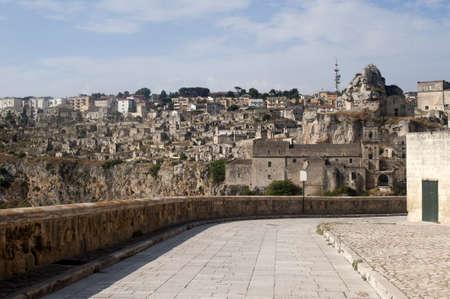 マテーラ (イタリア バジリカータ) - 旧市街 (サッシ)、ユネスコ世界遺産