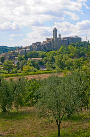 terni day: Baschi (Terni, Umbria, Italy) - Old town and olive trees