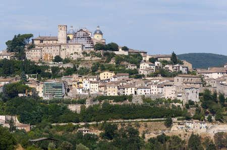terni day: Amelia (Terni, Umbria, Italy) - The old town Stock Photo