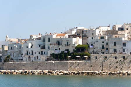 foggia: Vieste (Foggia, Gargano, Puglia, Italy) at summer