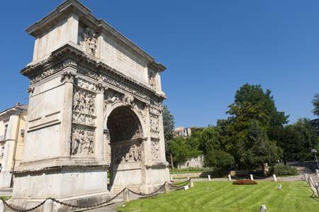 Benevento (Campania, Italy) - Arch known as Arco di Traiano