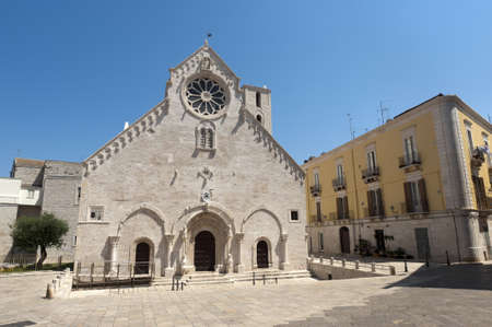 Ruvo (Bari, Puglia, Italy) - Old cathedral in Romanesque style (12th-13th century) Stock Photo