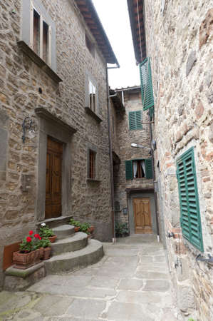 San Quirico (Svizzera Pesciatina, Pistoia Tuscany, Italy) - Typical old village
