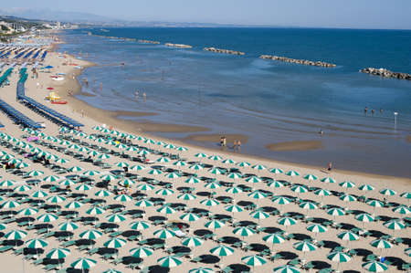 Termoli (Campobasso, Molise, Italy) - The beach at morning