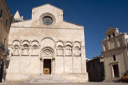 molise: Termoli (Campobasso, Molise, Italy) - Cathedral facade Editorial