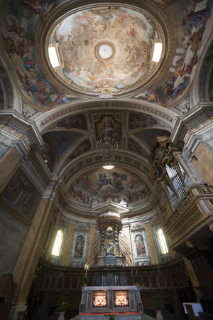 terni day: Amelia (Terni, Umbria, Italy) - Cathedral interior (all paintings: 15th-19th century)